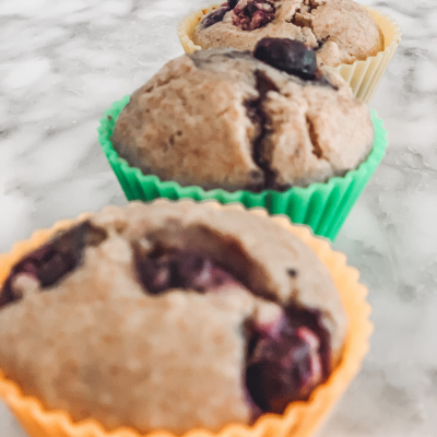 Emily's Blueberry Muffins